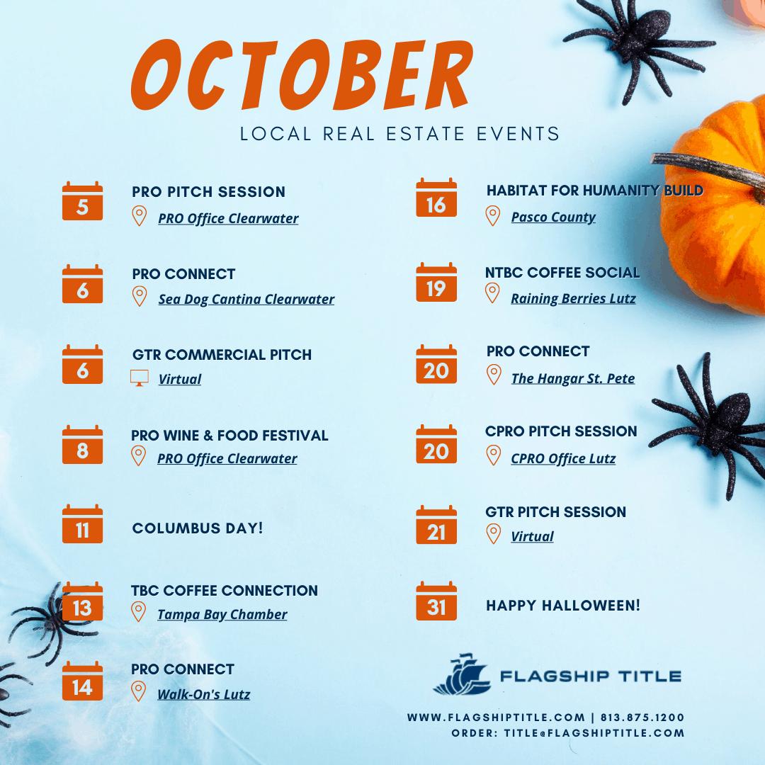 Monthly Calendar - October 2021